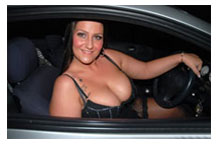 dogging in a car